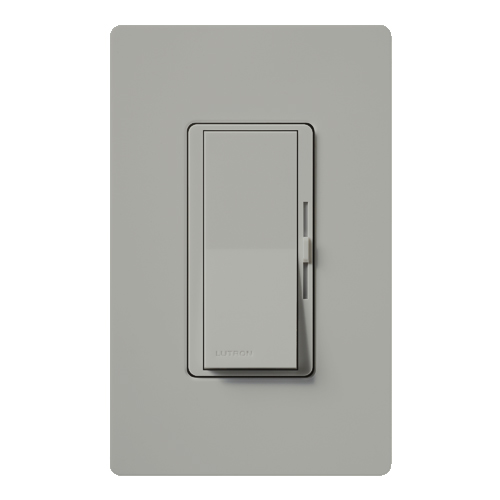 Lutron DV-603P-GR Diva Incandescent 600 W 3-Way Gray Dimmer