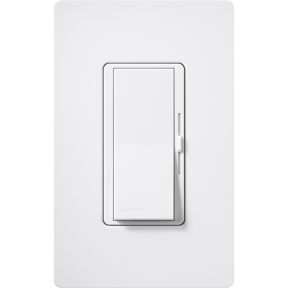 Lutron United Electric Radiora 2 3 Way Switch Lutdvscstv Sw Diva Dimmer Satin Finish Fluorescent Or Led Dimming With 0