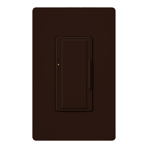Lutron MA-600-BR 600 W 120 Volt Brown 1-Pole/Multi-Location Incandescent/Halogen Digital Fade Dimmer