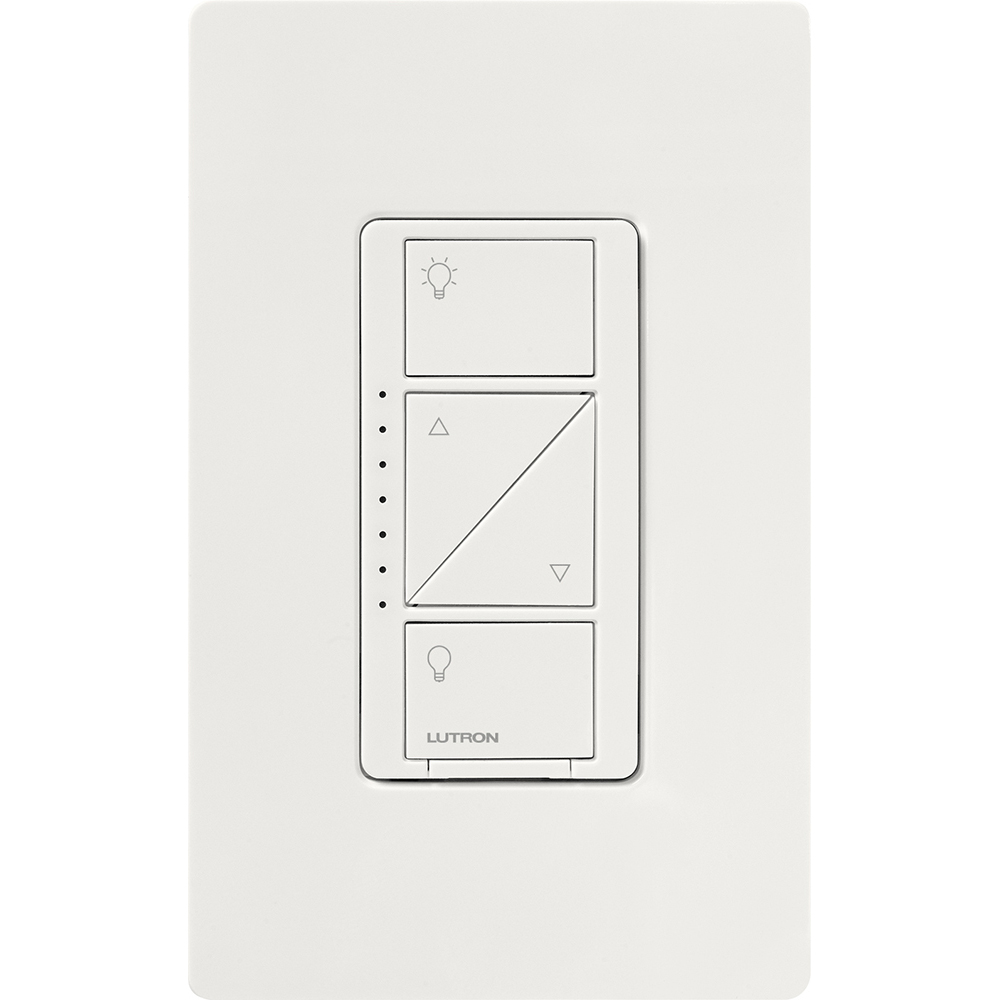 LUT PD-10NXD-WH CASETA PRO 1000W WIRELESS DIMMER, WHITE