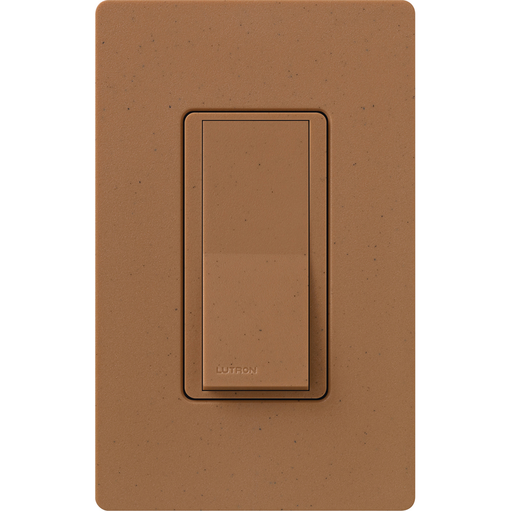 SATIN COLOR 4-WAY SWITCH TERRACOTTA