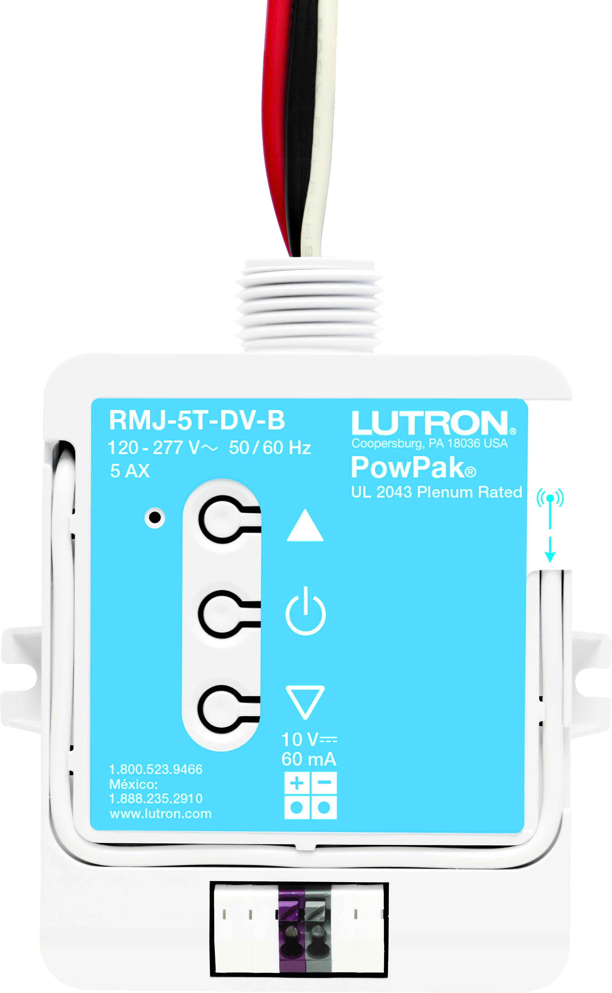 LUT RMJ-5T-DV-B POWPAK 0-10V WIRELESS DIMMING MODULE