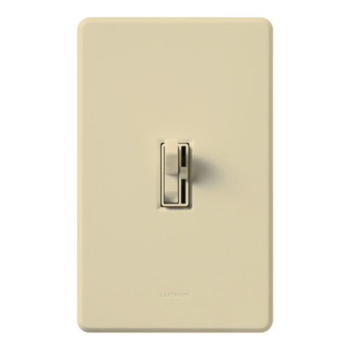 LUT AYCL-153P-IV ARIADNI 150W CFL/LED/INCANDESCENT SINGLE POLE/3 WAY DIMMER, IVORY