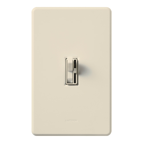 LUT AYCL-153P-LA ARIADNI 150W CFL/LED/INCANDESCENT SINGLE POLE/3 WAY DIMMER, LIGHT ALMOND