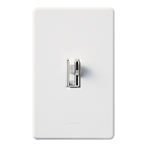 LUT AYCL-153P-WH ARIADNI 150W CFL/LED/INCANDESCENT SINGLE POLE/3 WAY DIMMER, WHITE